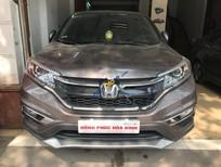 Cần bán xe Honda CR V 2.0AT đời 2015, màu nâu