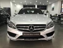 Cần bán lại xe Mercedes C300 AMG đời 2016, màu bạc, như mới