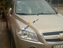 Cần bán gấp Chevrolet Captiva LTZ sản xuất 2007, màu ghi vàng