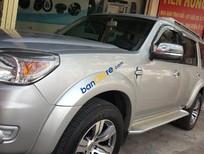 Cần bán Ford Everest Limited model 2010 sx 2009, số tự động màu bạc 1 đời chủ