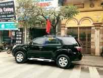 Gia đình cần bán Toyota Fortuner V 2.7 4x4 2009 màu đen, giá 489 triệu