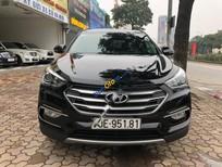 Bán Hyundai Santa Fe 2.4 AT sản xuất 2017, màu đen số tự động