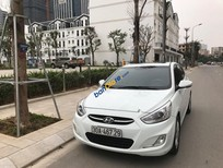 Bán xe Hyundai Accent 1.4AT sản xuất 2015, màu trắng, nhập khẩu nguyên chiếc đã đi 23.000km, giá chỉ 495 triệu
