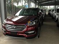 Hyundai Santa Fe - Hyundai Santa Fe full xăng 2.2 sản xuất năm 2018, màu đỏ