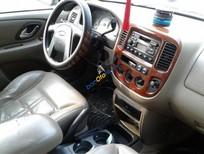 Cần bán Ford Escape XLT đời 2003, màu đen chính chủ, 179 triệu