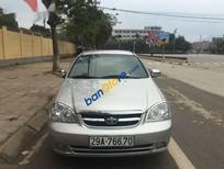 Bán ô tô Daewoo Lacetti sản xuất 2007, màu bạc còn mới, giá 195tr