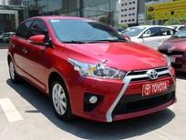 Bán ô tô Toyota Yaris 1.3G năm 2014, màu đỏ, nhập khẩu nguyên chiếc số tự động