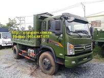Bán xe ben dongfeng 8T5 - 8.5 tân - 8,5 tấn 1 cầu thùng ben 7 khối