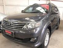 Cần bán gấp Toyota Fortuner 2.7V 2013, màu xám giá cạnh tranh