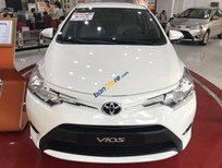 Bán ô tô Toyota Vios E MT 2018, màu trắng, full option, khuyến mãi 50 triệu