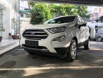 Cần bán xe Ford EcoSport Titanium ecoboost 1.0 đời 2018, màu trắng, giá chỉ 689 triệu