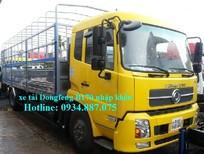 Bán xe tải dongfeng b170 9T35 - 9,35 tấn - 9.35T máy Cummins nhập khẩu