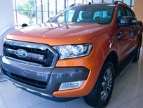 Ford Ranger Wildtrak 2017, hỗ trợ mua xe trả góp lãi suất tốt nhất, xe đủ màu, giao ngay