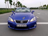 Cần bán xe Lexus IS 350C đời 2010, màu xanh lam, nhập khẩu