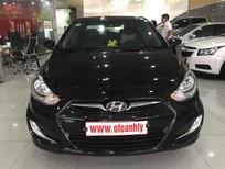 Cần bán Hyundai Acent 1.4 năm 2012, màu đen, xe nhập, xe gia đình