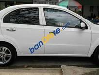 Cần bán Chevrolet Aveo 1.5LT 2016, màu trắng số sàn
