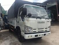 Xe tải Isuzu 3T5 thùng bạt nhập khẩu 100%-cam kết giá tốt miền nam