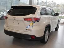 Bán xe Toyota Highlander LE năm 2016, màu trắng, nhập khẩu nguyên chiếc