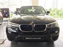 Cần bán xe BMW X3 xDrive20i đời 2017, màu đen, xe nhập