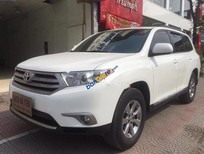 Chính chủ bán Toyota Highlander SE sản xuất 2011, màu trắng, xe nhập