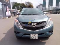 Bán xe Mazda BT 50 4x4 sản xuất 2014, màu xanh, xe nhập