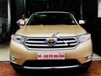 Bán Toyota Highlander Se 2.7 SX 2011, màu vàng, nhập khẩu