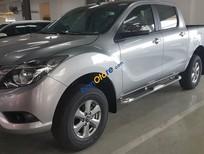 Bán Mazda BT 50 2.2 MT màu bạc, hỗ trợ vay 80% giá trị xe. LH 0938097488