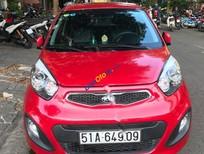 Bán Kia Picanto 1.25 MT sản xuất 2013, màu đỏ