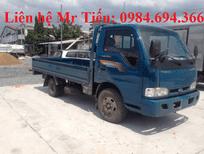 Bán xe tải Thaco Kia K165S tải 2,4 tấn đủ các loại thùng liên hệ 0984694366, hỗ trợ trả góp