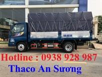 Bán xe Thaco Ollin 2 tấn 4 vào thành phố, đời 2017, động cơ công nghệ Isuzu