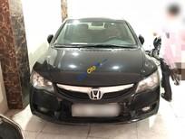 Honda Civic 1.8MT đời 2009, màu đen đẹp xuất sắc