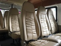 Transit Limousine 16 chỗ, 830tr, lót sàn gỗ, ốp trần, bọc da Limousine
