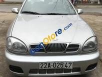 Cần bán Daewoo Lanos 1.5MT 2003, màu bạc