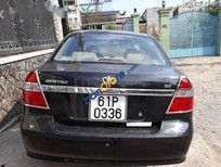 Bán xe Daewoo Gentra sản xuất năm 2009, màu đen