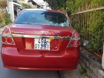 Bán xe Daewoo Gentra năm sản xuất 2008, màu đỏ xe gia đình, giá tốt