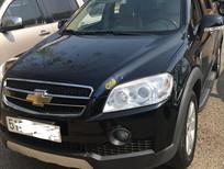 Cần bán xe Chevrolet Captiva đời 2008, số sàn, màu đen