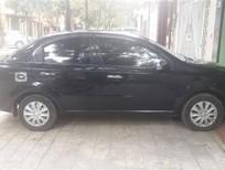Bán xe Daewoo Gentra SX 2008, màu đen, xe gia đình, 175 triệu