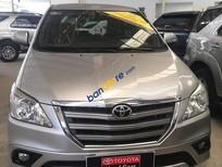 Cần bán Toyota Innova G sản xuất năm 2015, màu bạc, giá 680tr. Toyota Đông Sài Gòn - CN Nguyễn Văn Lượng