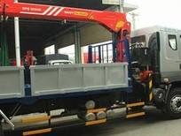 Xe tải Chenglong gắn cẩu Palfinger Sany 5t.