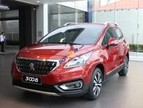 Cần bán xe Peugeot 3008 1.6 AT năm 2018, màu đỏ