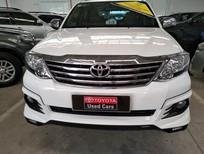 Cần bán Toyota Fortuner TRD 2015, màu trắng, giá thương lượng, có hỗ trợ trả góp