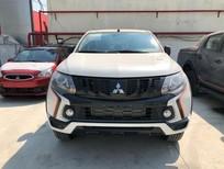 Bán xe Mitsubishi Triton 2018, màu trắng, nhập khẩu chính hãng giá cạnh tranh, cho góp 90%