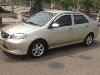 Cần bán gấp Toyota Vios 1.5G 2007, màu ghi vàng