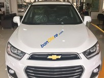 Bán Chevrolet Captiva 2018, màu trắng, giá tốt, trả góp lên đến 95%, liên hệ: 0938.633.586