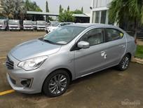 Cần bán Mitsubishi Attrage sản xuất 2018, màu bạc, xe nhập, cho góp đến 90%