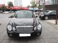 Mercedes E280, sản xuất 2006, màu đen, nội thất đen