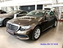 Cần bán gấp Mercedes E200 đời 2018, màu nâu
