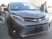 Bán Toyota Siena Limited 2018, màu nâu, xe nhập Mỹ