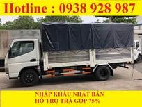 Bán xe tải Mitsubishi Fuso Canter 4.7 thùng mui bạt tải trọng 1.9 tấn ở TP. Hồ Chí Minh
