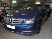 Xe Mercedes C200 đời 2012, màu xanh lam
